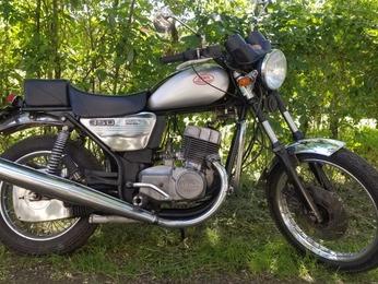 CHOPPER 350 JAWA 6392 GRIS